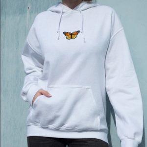 Brandy Melville butterfly sweatshirt